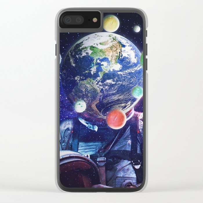 Orbital Complexion Clear iPhone Case