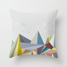 Colorflash 1 Throw Pillow