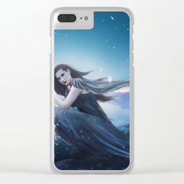 Fantasy Warrior Valkyrie Clear iPhone Case