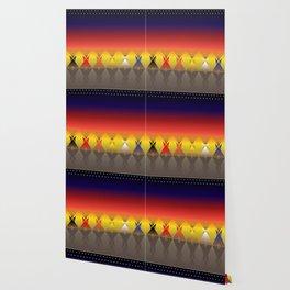 Night Tipi Wallpaper