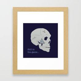 Still in the game Framed Art Print