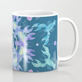 Lobster Mandala Coffee Mug