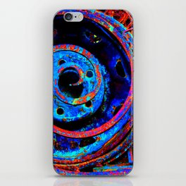 Rusty Spiral iPhone Skin