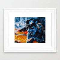 avatar Framed Art Prints featuring Avatar by Sharon Whelchel