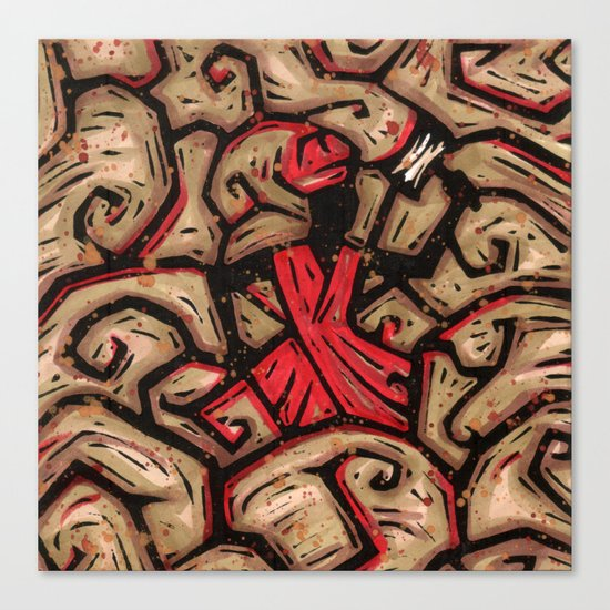 Orixás - Xango Canvas Print
