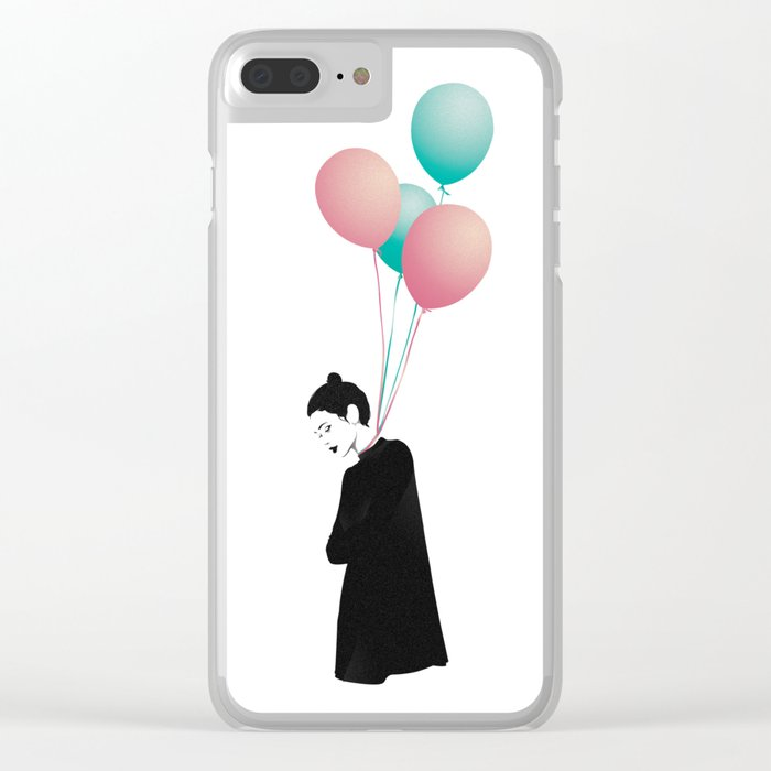 Balloons 4 Clear iPhone Case