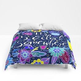It's 5 O'clock Somewhere Comforters