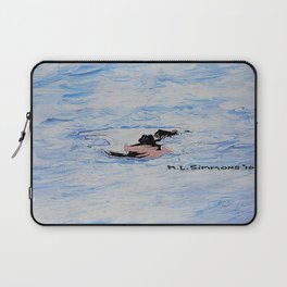 In the Master's Arms - Scotties - Scottish Terrier Laptop Sleeve