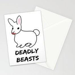 Deadly Beast Stationery Cards