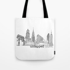 Untapped Cities Tote Bag