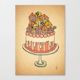 Cake Town Canvas Print