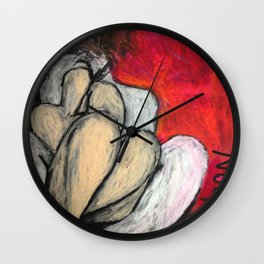 Back to Front Wall Clock