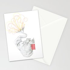 One Elephant Band Stationery Cards