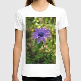 lilac flower T-shirt