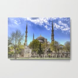 The Blue Mosque Istanbul Metal Print