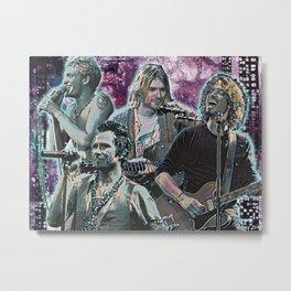 Grunge Kings 2 Metal Print