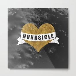 Hunksicle Metal Print