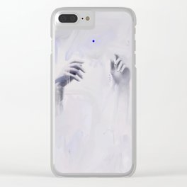 The Weight Of It All Clear iPhone Case
