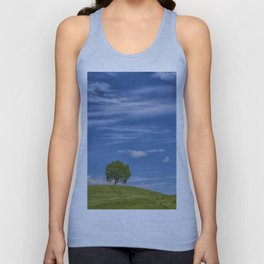 THE TREE ON THE HILL Unisex Tank Top