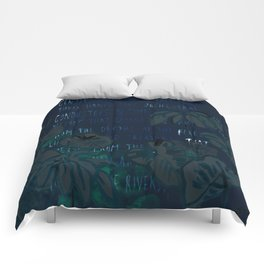 """""""Conquest of the Useless"""" by Werner Herzog Print (v. 5) Comforters"""