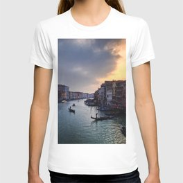 Ponte Rialto al Tramonto T-shirt