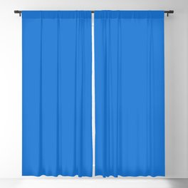 From Crayon Box – Navy Blue - Bright Blue Solid Color Blackout Curtain
