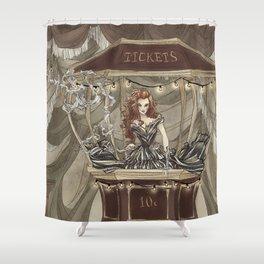 Midnight Circus: tickets Shower Curtain