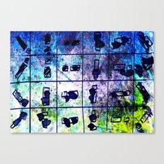 object matchsticks Canvas Print