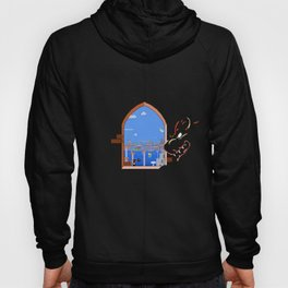 Our Hero Approaches (Black Background) - Mario Bros. Hoody
