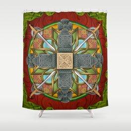 Mandala Celtic Glory Shower Curtain