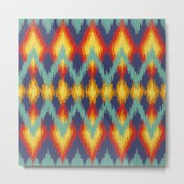 Pattern Native American Metal Print