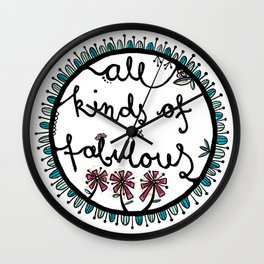 All kinds of fabulous Wall Clock