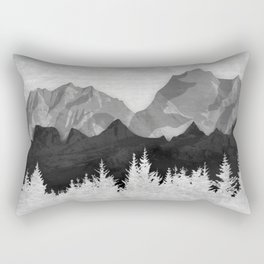 Layered Landscapes Rectangular Pillow