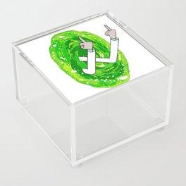 Rick And Mortyy Flip Off Acrylic Box