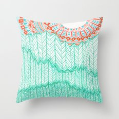 The Sun and The Hills Throw Pillow