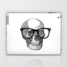 I die hipster - skull Laptop & iPad Skin