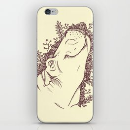 Fabulous Hippo iPhone Skin