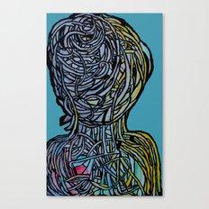 Windower Teal Canvas Print