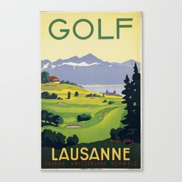 Lausanne Golf Canvas Print