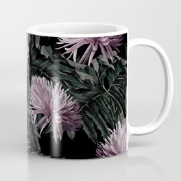 Night Floral Coffee Mug