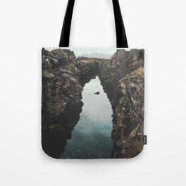 I left my heart in Iceland - landscape photography Tote Bag