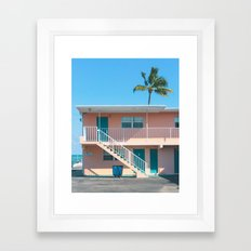 The Breezy Palms Framed Art Print