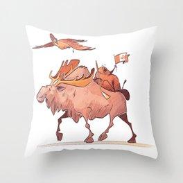 Canada eh Throw Pillow