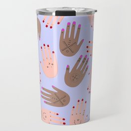 hands boucherouite Travel Mug