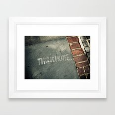 This is Home. Framed Art Print
