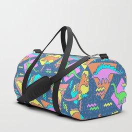 Nineties Dinosaur Pattern Duffle Bag
