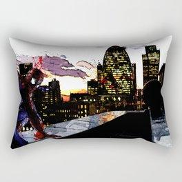 Spiderman in London Rectangular Pillow