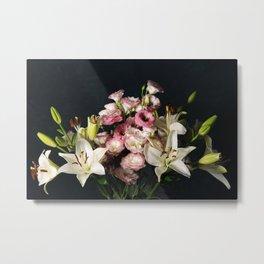 Elegant floral composition Metal Print