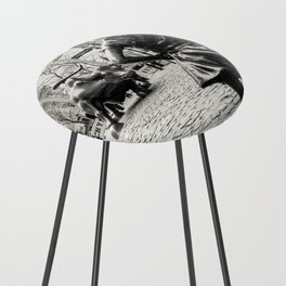 Fearless Girl & Bull - NYC Counter Stool