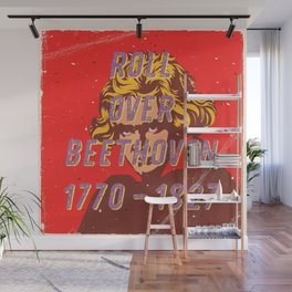 Roll over Beethoven – A Hell Songbook Edition Wall Mural